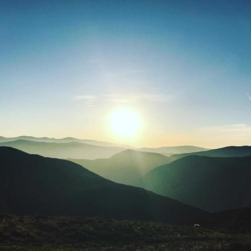 Sunrise from Stile End